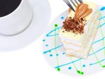 Torta de esponja a Imagenes de archivo