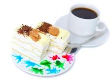 Torta de esponja Fotos de archivo libres de regalías