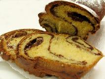 Torta de esponja Imagen de archivo libre de regalías