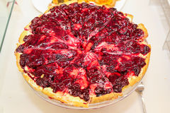 Torta de fruta com doce imagens de stock
