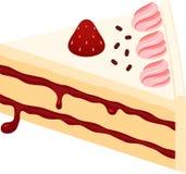 Torta de frutas de la fresa Fotos de archivo