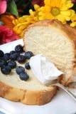 Torta de frutas del arándano imagen de archivo libre de regalías