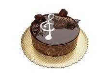 Torta de la ópera del chocolate Imagen de archivo libre de regalías