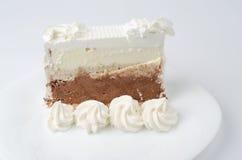 Torta de la almendra Imagen de archivo libre de regalías