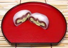 Torta de la ceremonia de té Imagen de archivo libre de regalías