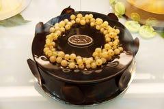 Torta de la crema batida Foto de archivo libre de regalías