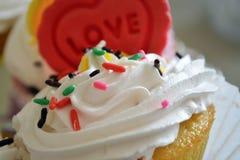 Torta de la crema de la galleta Foto de archivo libre de regalías