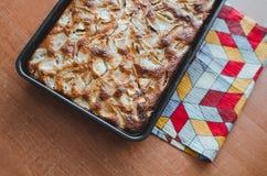 Torta de la empanada de Apple Imagen de archivo libre de regalías