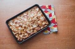 Torta de la empanada de Apple Fotografía de archivo libre de regalías