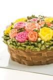Torta de la flor Fotografía de archivo