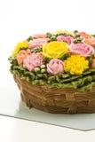 Torta de la flor Fotografía de archivo libre de regalías