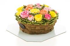 Torta de la flor Fotos de archivo