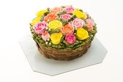 Torta de la flor Fotos de archivo libres de regalías