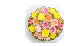 Torta de la flor Foto de archivo