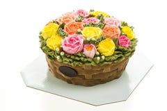 Torta de la flor Imágenes de archivo libres de regalías