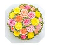Torta de la flor Imagenes de archivo