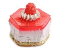 Torta de la frambuesa Imagen de archivo libre de regalías