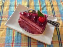 Torta de la fresa Imagen de archivo libre de regalías