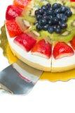Torta de la fruta Imágenes de archivo libres de regalías