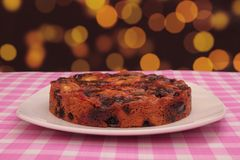 Torta de la fruta Imagen de archivo libre de regalías