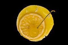 Torta de la fruta cítrica Imagenes de archivo