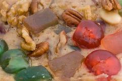 Torta de la fruta del día de fiesta Imagenes de archivo
