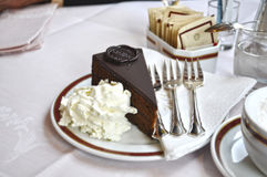 Torta de la galleta Imágenes de archivo libres de regalías
