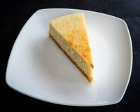 Torta de la leche Fotografía de archivo libre de regalías