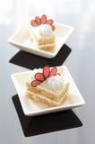 Torta de la mantequilla foto de archivo libre de regalías