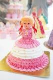 Torta de la muñeca Fotos de archivo libres de regalías