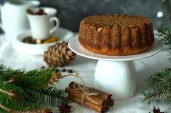 Torta de la Navidad Fotos de archivo libres de regalías