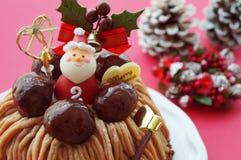 Torta de la Navidad Imagenes de archivo