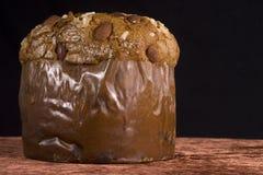 Torta de la Navidad del chocolate Imágenes de archivo libres de regalías