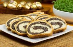 Torta de la semilla de amapola Fotografía de archivo libre de regalías