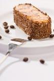 Torta de la suposición del chocolate Foto de archivo