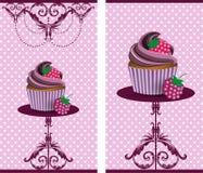 Torta de la taza Foto de archivo