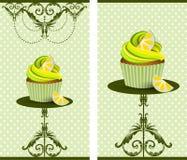 Torta de la taza Fotografía de archivo