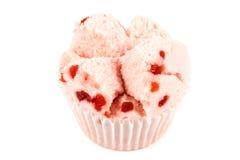 Torta de la taza de la algodón Fotografía de archivo libre de regalías