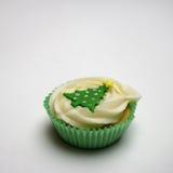 Torta de la taza de la Navidad Foto de archivo libre de regalías