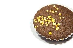 Torta de la taza del plátano Imagenes de archivo