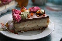 Torta de la torta foto de archivo libre de regalías
