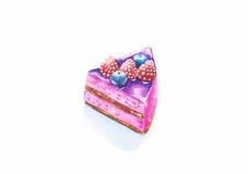 Torta de las bayas Fotografía de archivo libre de regalías