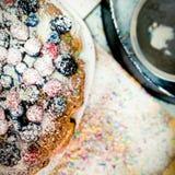 Torta de las bayas Imagen de archivo libre de regalías
