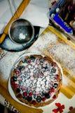 Torta de las bayas Foto de archivo
