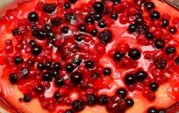Torta de las frutas del bosque Foto de archivo libre de regalías