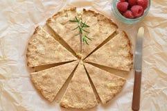 Torta de las galletas de torta dulce fotos de archivo