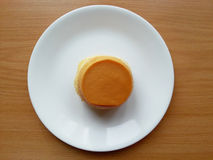 Torta de las natillas Fotografía de archivo libre de regalías
