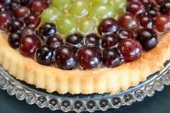 Torta de las uvas Imagen de archivo