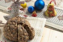 Torta de los christamas de Pangiallo Fotografía de archivo libre de regalías