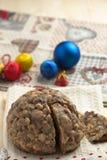 Torta de los christamas de Pangiallo Foto de archivo